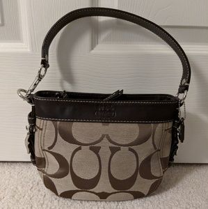 COACH 41856 Mini Zoe Hobo Shoulder Bag